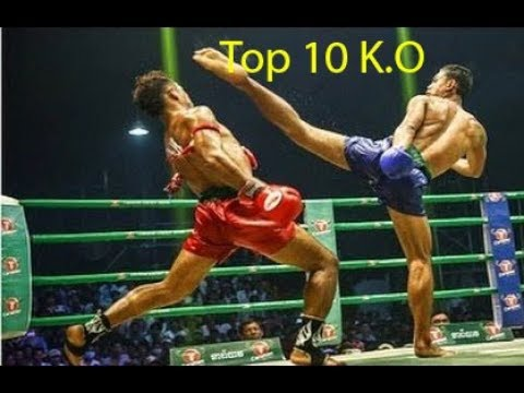 Keo Romchong Vs Thai, Top 10 K O, Khmer boxing daily, Kun Khmer vs Muay Tha