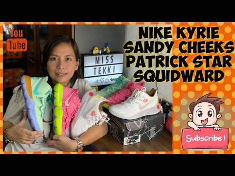 Nike Kyrie SpongeBob Collaboration