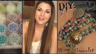 DIY: Beaded Wrap Bracelet