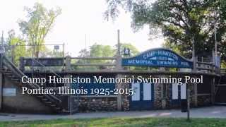 Camp Humiston Pool, Pontiac Illinois,  2015