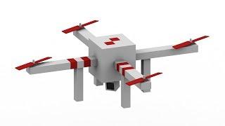 Monster School: DRONES! - Minecraft Animation
