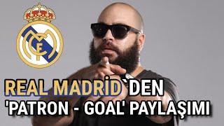 Real Madrid'den 'Patron - Goal' Paylaşımı! | Real Madrid - Patron Respect Resimi
