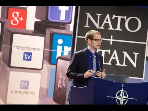 Using Twitter & Facebook as Lead Platforms - Speaking at NATO Conference