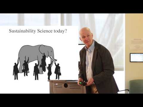 "Bill Clark: ""Sustainability science: An emerging field of use-driven research"""