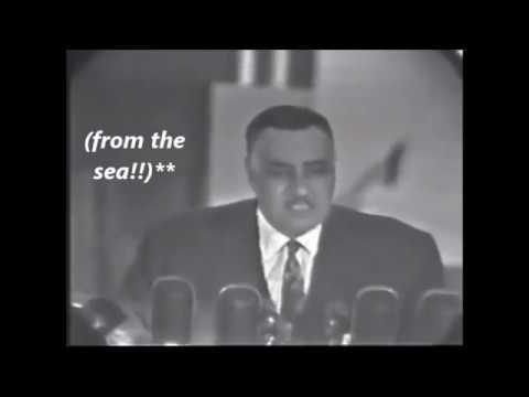 Jamal Abdel Nasser Speech About American economic aid to Egypt (subtitles)