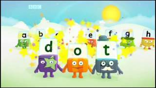 "Alphablocks - Jolly phonics  "" ABCD """