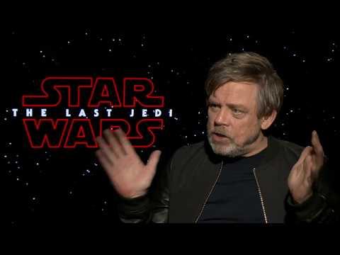 STAR WARS THE LAST JEDI Mark Hamill Interview