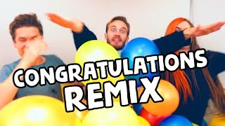 Download PewDiePie - Congratulations (Remix) [with Lyrics] Mp3 and Videos