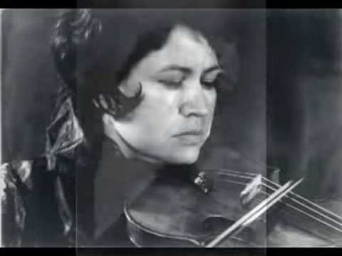 LEGENDARY VIOLINISTS: ZORIA SHIKHMURZAYEVA (1933-2010) plays Faure Romance op 28