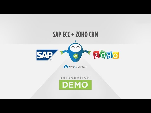 SAP ERP and ZOHO CRM Integration | Connect SAP ECC and ZOHO | APPSeCONNECT