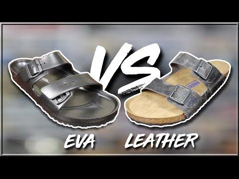Birkenstock Arizona EVA Vs Arizona Soft Footbed | Sizing, Quality, Comfort