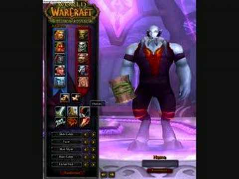 world of warcraft race...
