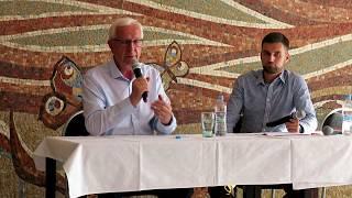 Jiří Drahoš - setkání s kandidátem na prezidenta v Českých Budějovicích 2017