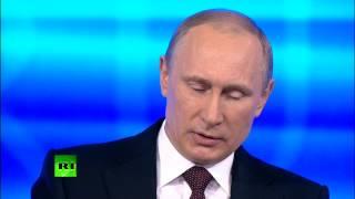 «Прямая Линия» С Владимиром Путиным 2014