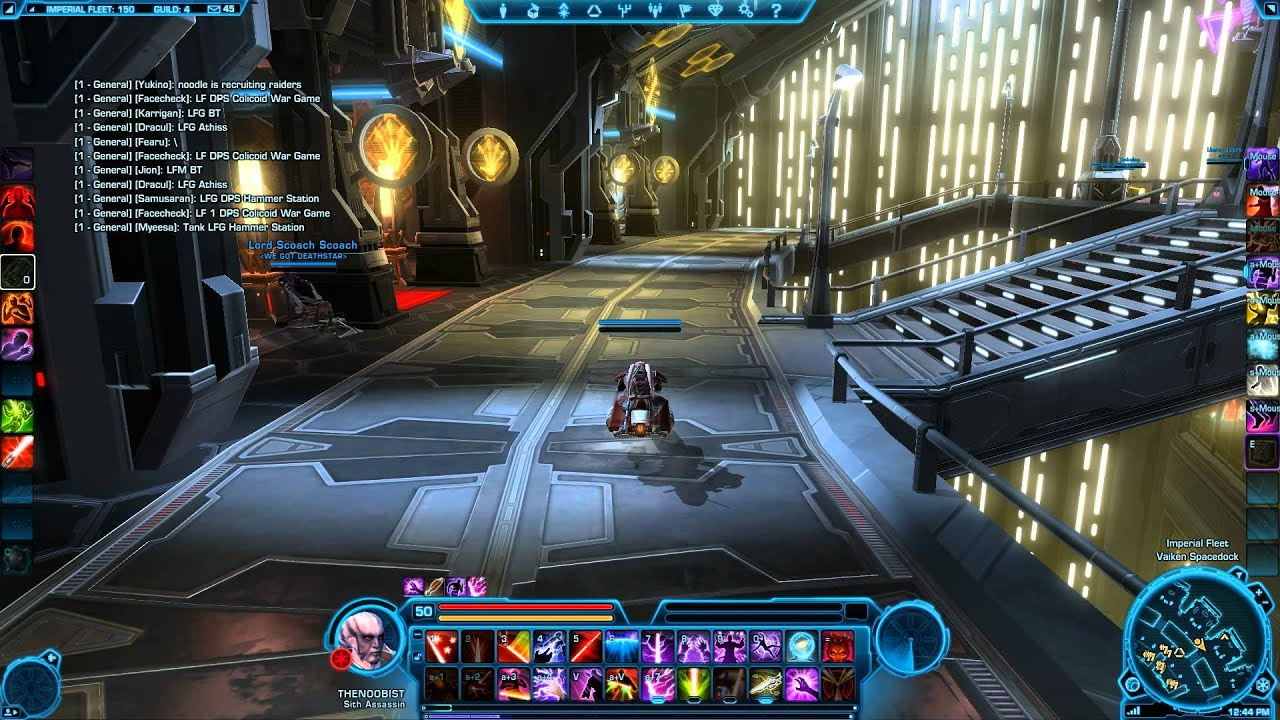 SWTOR: Setting up Keybinds with the Razer Naga for both ...