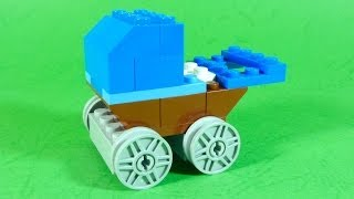How To Build Lego Baby Stroller - 4630 Lego® Build & Play Box Building Instructions For Kids