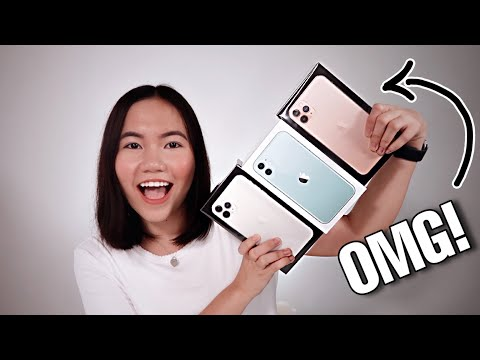 IPhone 11 & IPhone 11 Pro Max Unboxing! (PHILIPPINES)