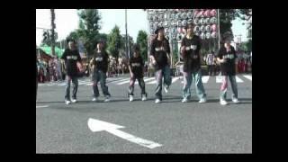 SEVEN☆STARS~熊谷うちわ祭~ 2010.7.21 猛暑の中でのパフォーマンスで...