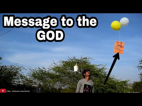 How to make a flying balloon without helium - at home in hindi
