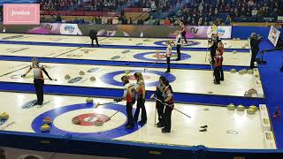 2018 세계 여자 컬링 선수권대회- 한국 vs 독일