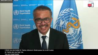 Press conference on COVID-19 and Intra-action Reviews (IAR)