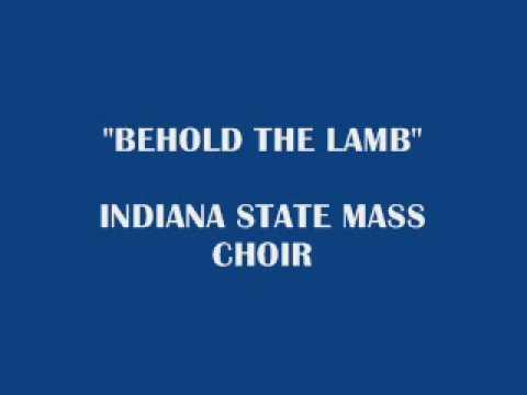 BeholdtheLamb - IndianaStateMass.wmv
