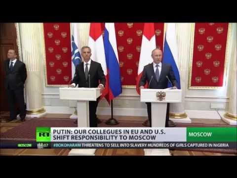 Putin calls for End to Kiev's military op, postponing referendum in E  Ukraine