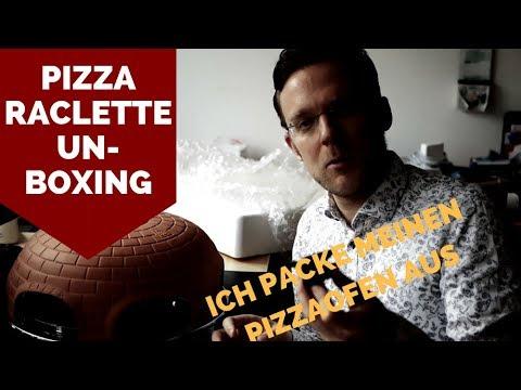 Unboxing: PIZZA-OFEN-RACLETTE ¦ Sparsam & Gesund Leben