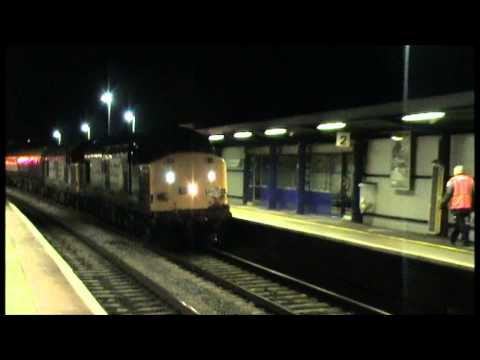 DRS 37604+612 TnT 423 Thrash out Bristol Parkway 'The Beverley Humber' 21-12-13