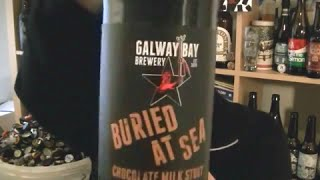 Galway Bay Brewery - Buried At Sea Chocolate Milk Stout (irish Craft Beer)  - Hopzine Beer Review