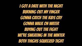 Date With The Night - Yeah Yeah Yeahs (lyrics)