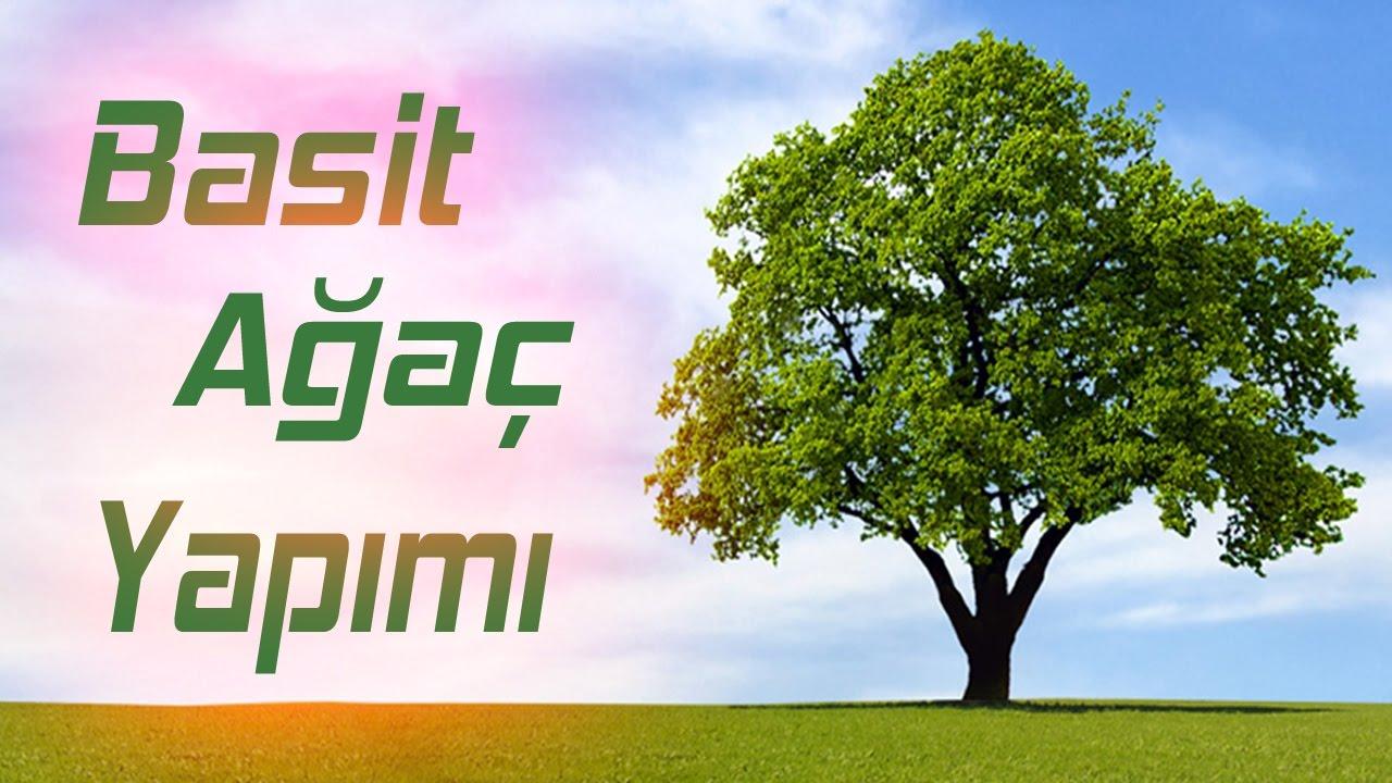 Ağaç Yapımı Basit Kağıttan Ağaç Yapımı Origami 4 Youtube