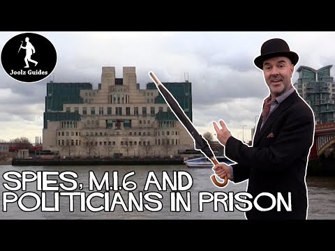Spies, MI5 MI6, Politicians, Moscow in London - Tate to Westminster