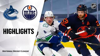 NHL Highlights | Canucks @ Oilers 01/14/21
