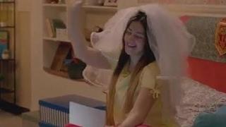 البنت الروسية التى أعجبت محمد حماقى واغنية دويتو مع دنيا سمير اول مرة فى مسلسل لهفة HD