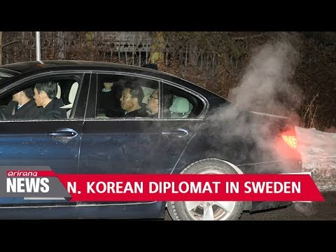 North Korea's foreign minister arrives in Sweden for talks on Korean Peninsula affairs