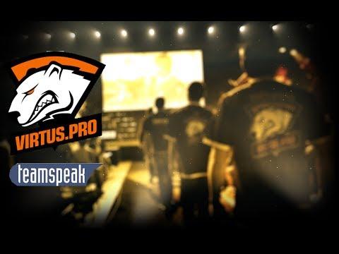 [TS3] [PL] Virtus.pro vs Fnatic [MIRAGE] | Virtus.pro na podsłuchu Teamspeak 3 #2
