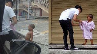 길거리에서 발가벗은 아이를 본 이 청년의 행동이 전세계를 감동시켰다