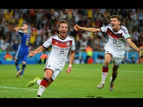 Jerman Vs Argentina 1 0 Final Piala Dunia 2014 Youtube
