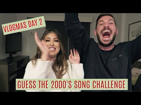 GUESS THE 2000'S SONG CHALLENGE: VLOGMAS DAY 2 A&W VIBES