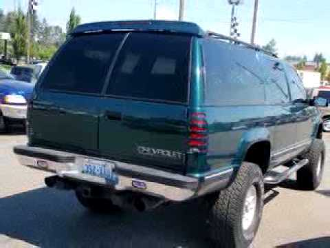 SOLD - 1995 Chevrolet SUBURBAN 2500 L 98204 Trucks Plus ...