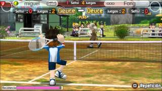 Hot shots tennis get a grip psp gameplay