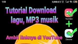 tutorial download mp3 musik, link dari youtube