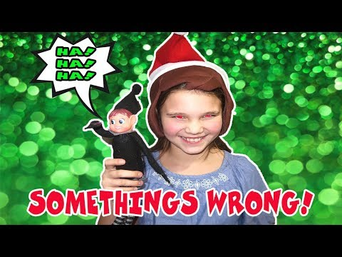 Something Is Wrong With Her! Mean Elf On The Shelf Evl Is Controlling Her!