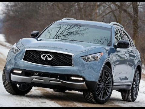 2018 Infiniti Qx70 Crossover Suv Review Youtube