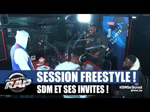 Youtube: SDM – Session freestyle avec La Comera, Juicy-P, Jack Many, Denzo, Murs OG… #PlanèteRap