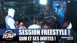 SDM - Session freestyle avec La Comera, Juicy-P, Jack Many, Denzo, Murs OG... #PlanèteRap