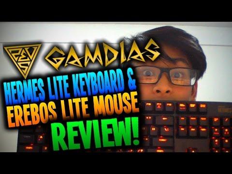 Review - Gamdias Hermes Lite Mechanical Gaming Keyboard & Mouse [Mechanical Gaming Combo]