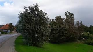 Handyvideo von Sturm Sebastian in Wremen 13.9.2017