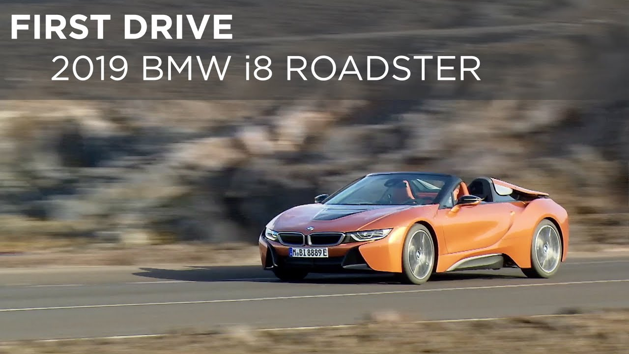 First Drive 2019 Bmw I8 Roadster Driving Ca Youtube